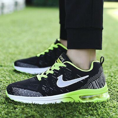 Men's Outdoor Flyknit Breathable Flywire Boots Sports Running Athletic Sneakers