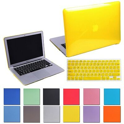 MacBook Air 13 Inch Hard Case and Keyboard Cover for Apple Model: A1369/A1466
