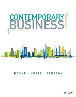 EB00K-Contemporary Business 17th Edition by Boone