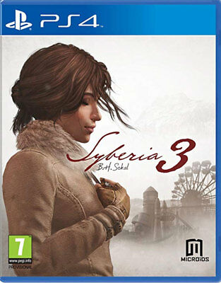 Siberia 3 (PS4)  BRAND NEW AND SEALED - IN STOCK - QUICK DISPATCH - FREE UK POST