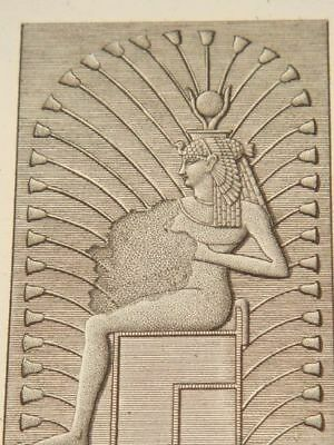 BALZAC DESCRIPTION EGYPT Edfou (Apollinopo…ORIGINAL ETCHING FIRST EDITION 1809