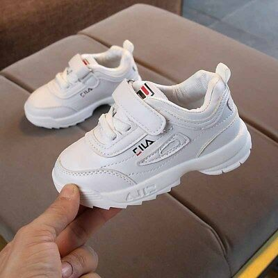 Kids Shoes Boy Girls Unisex Toddler Sneakers Athletic Trainers Sports Flats Walk