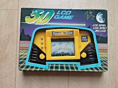 3D Space War - LCD Video Game & Watch Electronic - EUR - Complet in Box
