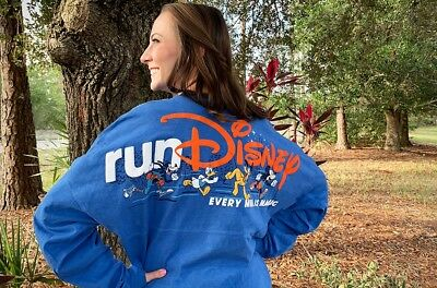 New 2019 Walt Disney World Marathon Run Disney Spirit Jersey Tee XL Or XXL