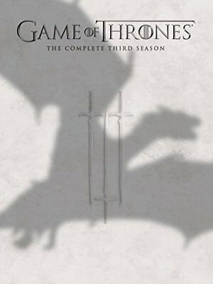Game of Thrones: The Complete Third 3 3rd Season (DVD, 2014, 5-Disc Set) NEW