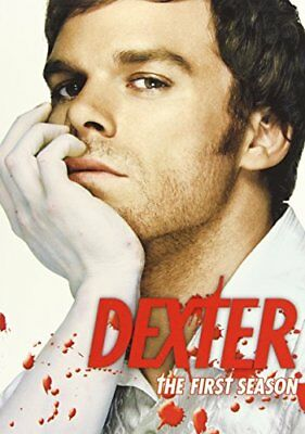 Dexter -The Complete First Season (DVD, 2007, 4-Disc Set) NEW