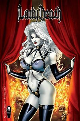Lady Death: Apocalyptic Abyss #2 (of 2) - Naughty Edition (Coming Soon) Pulido