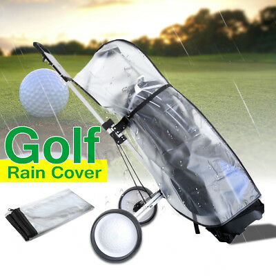 Waterproof Dustproof Golf Rain Cover PVC Golf Bag Shield Outdoor Rod Protector