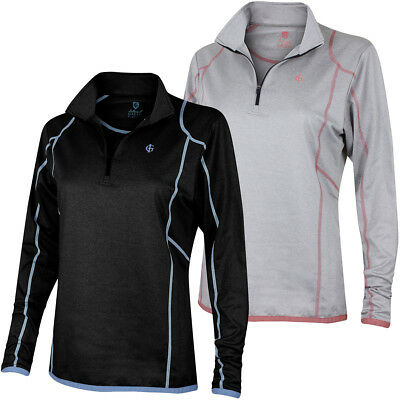Island Green Womens 1/2 Zip Breathable Mid Layer Golf Pullover 29% OFF RRP