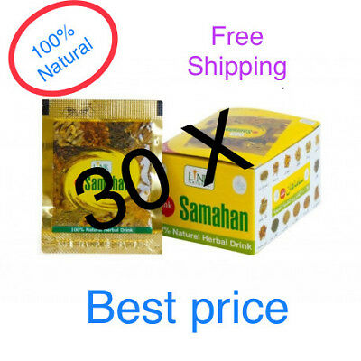 30 SAMAHAN Ayurveda herbal Natural drink tea for Cough & Cold remedy