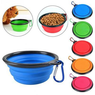 Lemfo Travel Collapsible Silicone Durable Pets Portable Bowl for Dogs Cats