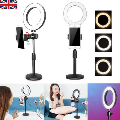 """6"""" LED Ring Light with Stand Lighting Kit camera light for Youtube Live Makeup"""