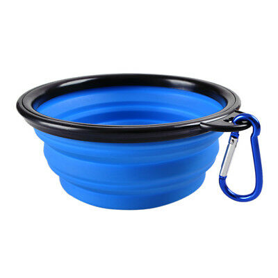 Lemfo Travel Durable Collapsible Silicone Pets Portable Bowl for Dogs Cats