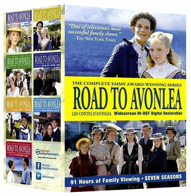 Road To Avonlea: Complete Series 1-7, Dvd Box Set,28 Discs, Free Shipping, New.