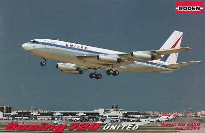 Roden 320: 1:144 Boeing 720 (United Airlines)