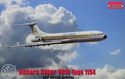 Roden 329: 1:144 Vickers Super VC10 Type 1154 (East African Airways)