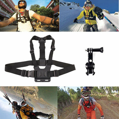 Chest Adjustable Chest Harness Strap For GoPro Go Pro Hero Series Camera Mount