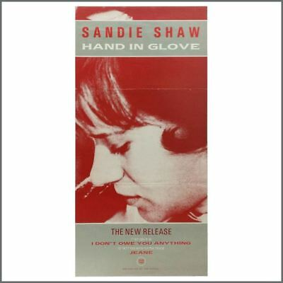 Sandie Shaw ft. The Smiths 1984 Hand In Glove Rough Trade Promo Poster (UK)