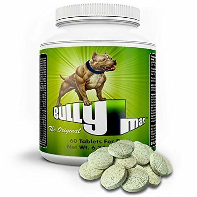 Bully Max Muscle Builder Dog Health Care Strong Supplements Vitamin 100% Natural