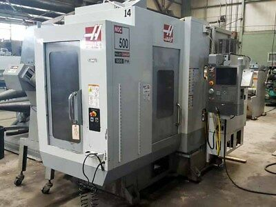 Haas MDC-500 CNC Vertical Milling and Drilling Center