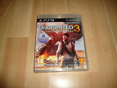 Uncharted 3 La Traicion De Drake De Naughty Dog Para Sony Ps3 Nuevo Precintado