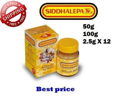 Ayurvedic Siddhalepa Balm relief from headaches,muscle and bone aches