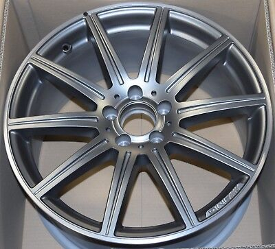 "GENUINE MERCEDES AMG E CLASS E63 S W212 19"" 9.5J x 19H2 ALLOY WHEEL A2124015102"