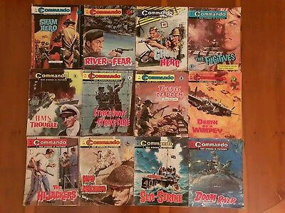 Collection Of Commando War Stories In Pictures x12