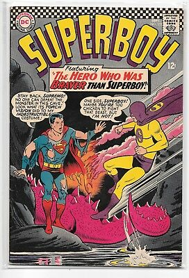 Superboy #132 VF- 7.5 DC Classic Silver Age 1966!!!