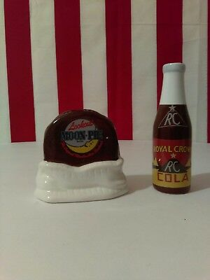 Moonpie and RC Cola Salt and Pepper Shakers, 2005 New in the box.
