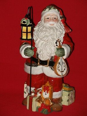 Fitz and Floyd YULETIDE TRADITIONS Santa Claus Christmas Figurine Figure Statue