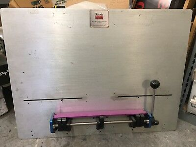 Ternes Register System Plate Punch used for Sakurai