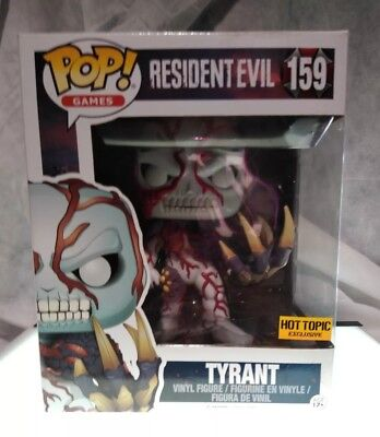 Funko Pop Tyrant Resident Evil 159 Hot Topic Exclusive