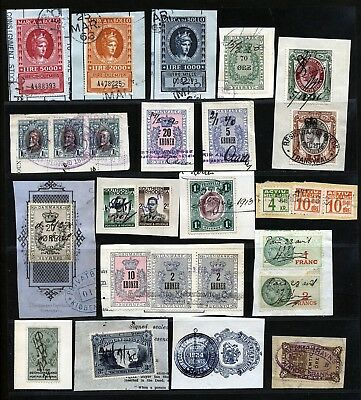 World Interesting Revenues Lots Fine Used Lot.      A2