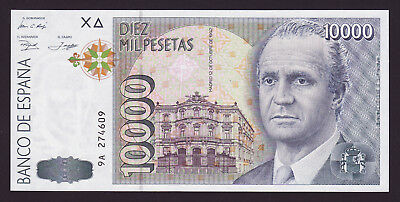SPAIN  -  10000 pesetas,1992  -  REPLACEMENT  -  P NL (P 166)  -  UNC