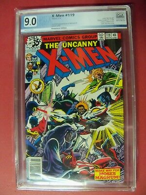 The Uncanny X-Men #119 Pgx Graded At Vf/nm 9.0 Bronze Age 1979 Marvel Comics