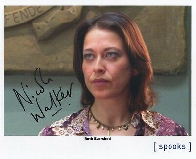 "Spooks MI-5 Auto Photo Print Nicola Walker ""Ruth Evershed"""