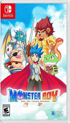 Monster Boy and the Cursed Kingdom NSW New Nintendo Switch,Nintendo Switch