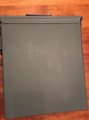 Large Metal Ammo Can With Foam Lining Military Pa60