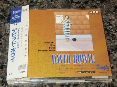 DAVID BOWIE Japan only 5 track 3 INCH CD single LICENSED official OBI Five Years