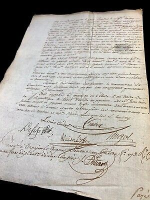 LOT OF TWO DOCUMENTS  1802 with lots of signatures