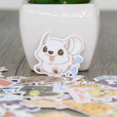 Hot Cute Dog Emotion Animal Stickers Notebook Scrapbooking DIY for Girl Lady