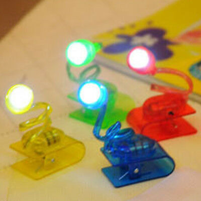 Clip On Book Reading Light Lamp LED for Bed Night Home Travel Small UK Stock