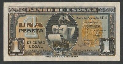 50 Centimos From Spain 1937 XF