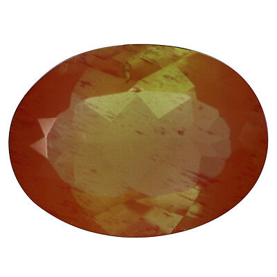 3.07Ct Very good Oval cut 12 x 9 mm 100% Natural AAA Confetti Red Sun Stone