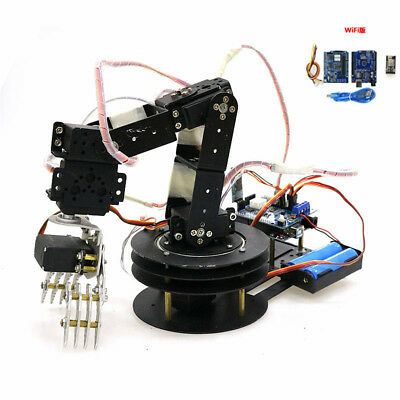 WIFI Control 5DoF Robot Arm Hand Robotic Manipulator Arm Claw
