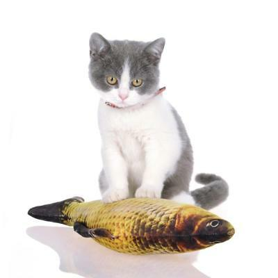 Plush Creative 3D Carp Fish Shape Simulation Fish Cat Toy N4U8