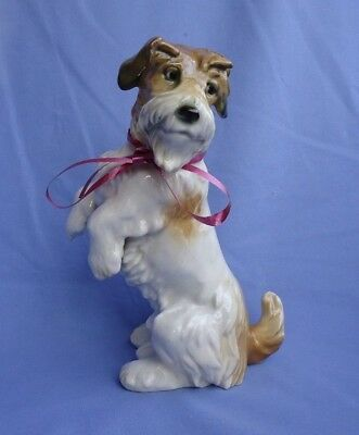 "1940 SEALYHAM CESKY TERRIER ENS GERMANY 8"" dog"
