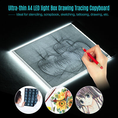 LED 3.5mm A4 Painting Tracing Board Pad Copy Panel Drawing Tablet Art Stencil