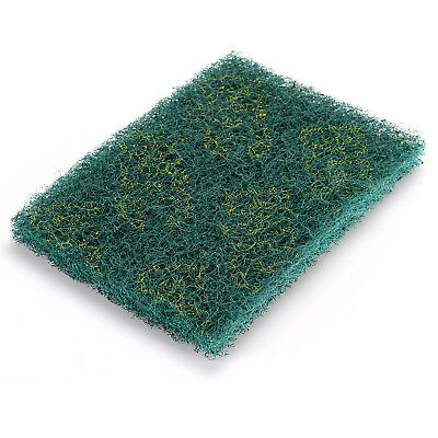 Green Scotch-brite Scoch Bright Abrasive Finishing Cleaning Scouring Pads ~8Pcs
